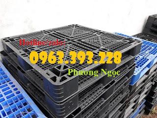 Pallet nhựa lót sàn, pallet nhựa nâng hàng, pallet kê kho 0380b6e007cbe895b1da