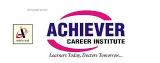Achiever Career Institute NEET Test Series 2020-21PDF]