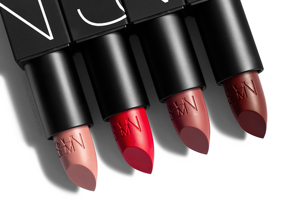 NARS new Lipsticks Matte Review Fall 2019
