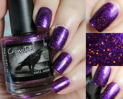 CrowsToes Nail Color Over & Over | Winter 2016