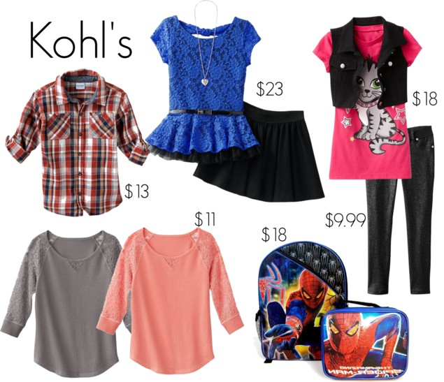 Back To School The Best Deals On Boy S Girl S Clothing Accessories