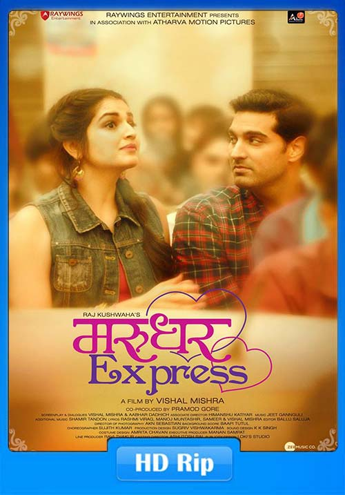 Marudhar Express 2019 Hindi 720p HDRip x264 | 480p 300MB | 100MB HEVC Poster