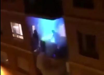 إغلاق الملاهي الليلية لم يمنع المواطنين في أنقرة (فيديو)