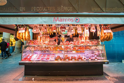 Barcelona Market by Laurence Norah