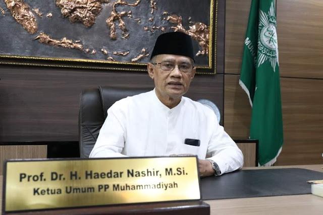 Haidar Nasir (Ketua Umum PP MUmahammadiyah)