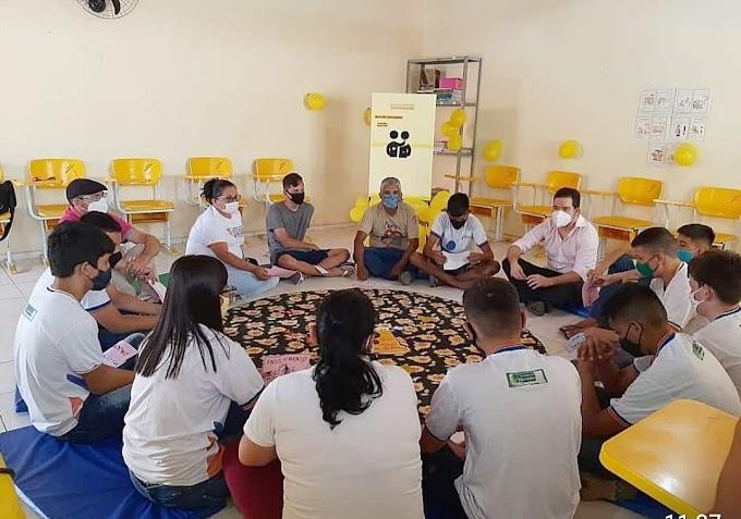 UBS de Juré-Cariré promove palestras para alertar  jovens sobre a prevenção ao suicídio