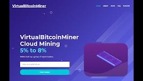 Virtualbitcoinminer New Bitcoin Cloud Mining Sites Daily 0.003 BTC Easy Earn Best Sites 2020