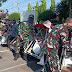 Jum'at Barokah, Kodim 0824/Jember Bantu Sembako Kaum Duafa dan Tukang Becak