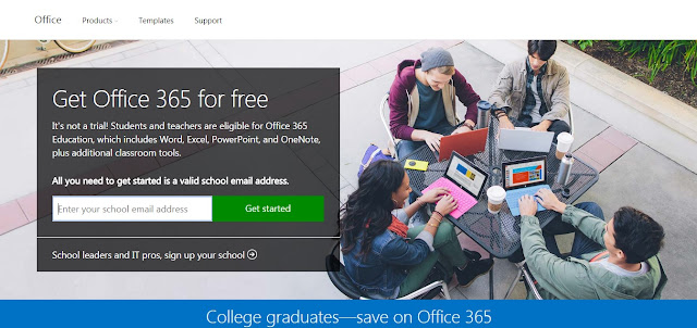 Microsoft Berikan Akses Gratis Office 365 untuk pelajar dan mahasiswa