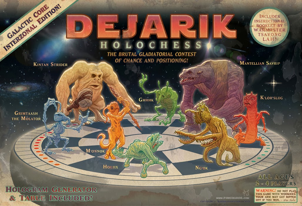 Dejarik Holochess box art