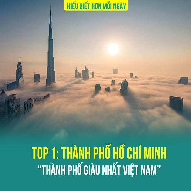 Top 1: Thành phố Hồ Chí Minh – TP.HCM giàu nhất Việt Nam