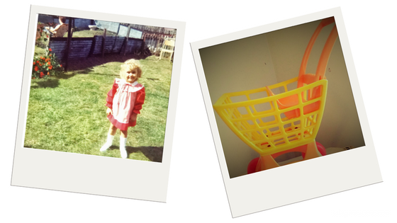Me in Edinburgh and Tuff Stuff Shopping Cart Toy on eBay