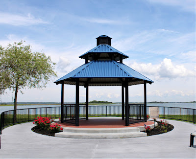 Sunset Lake Park in Wildwood Crest, New Jersey