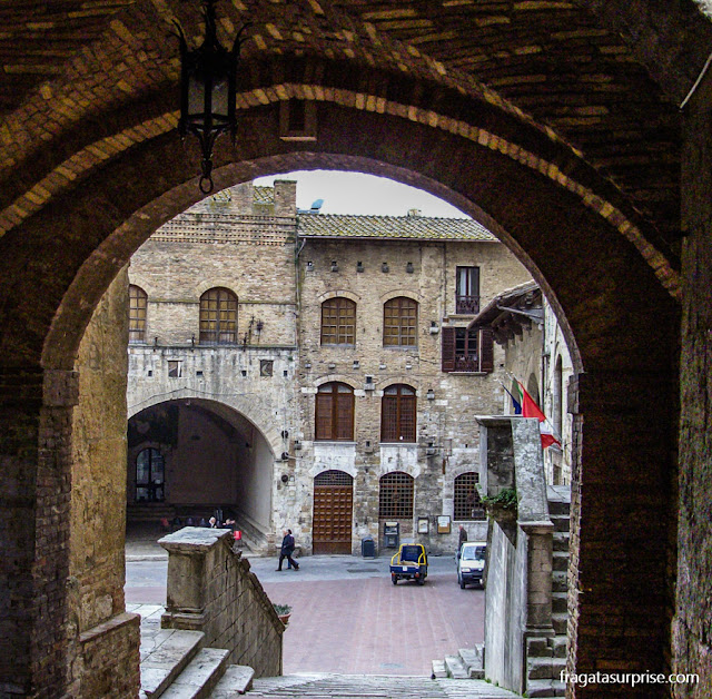 Centro Histórico de San Gimignano, Toscana, Itália