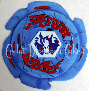 Beyblade Cake Topper Party City
