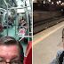 "Jornalista da Globo Márcio Gomes usa trem da CPTM e reclama ""Zona de Apocalipse"""
