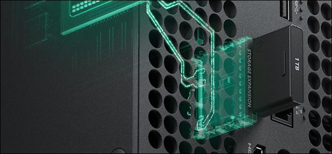 توسيع تخزين Xbox Series X.