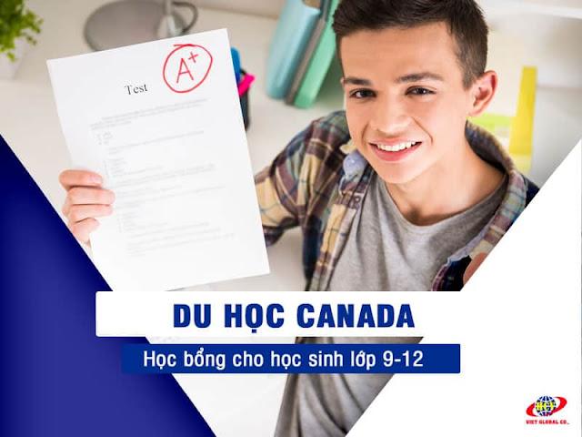 Du học Canada: Tổng hợp Học bổng Trung học lớp 9-12