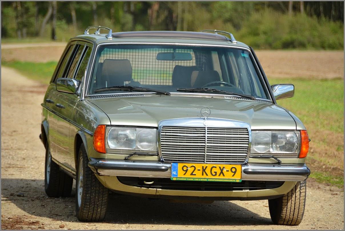 Mercedes-Benz 300 Turbodiesel Stationwagon (123) 1984 +
