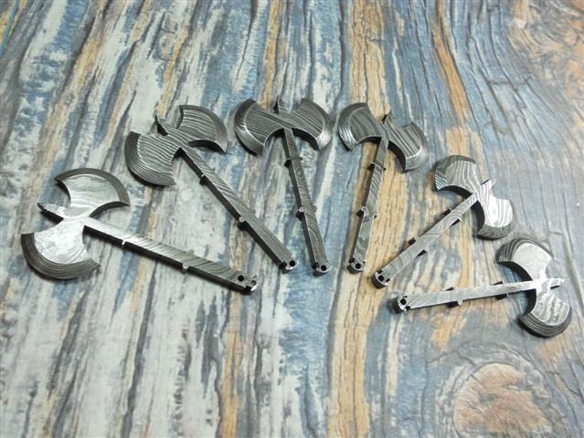 Damascus Deal Damascus Steel Miniature Knife Dagger