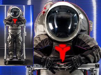 NASA presentó nuevos trajes para viajar a Marte