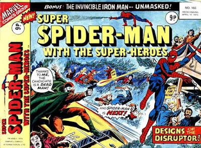Super Spider-Man with the Super-Heroes #166, the Disruptor
