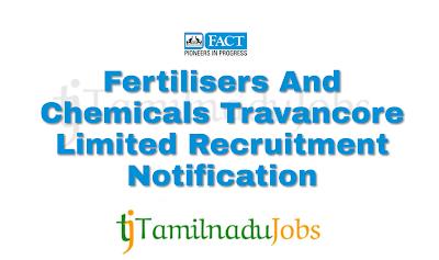 FACT Recruitment notification of 2018