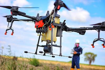 jasa survey lahan perkebunan drone spray