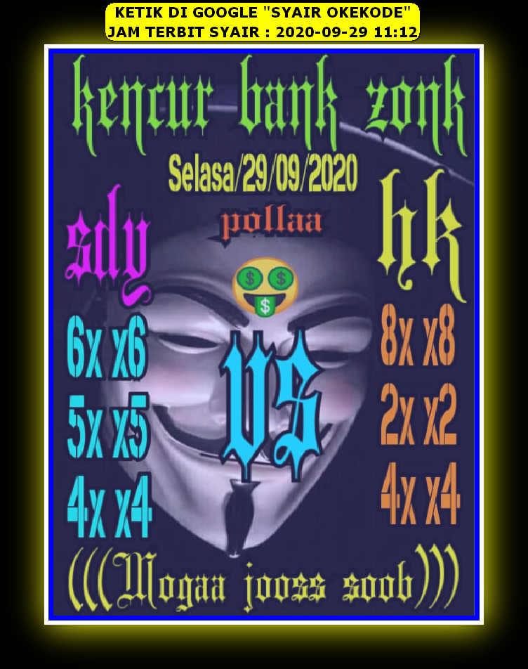 Syair sdy 29 September 2020 - KODE SYAIR SGP SYAIR HK SYAIR SYDNEY 2021