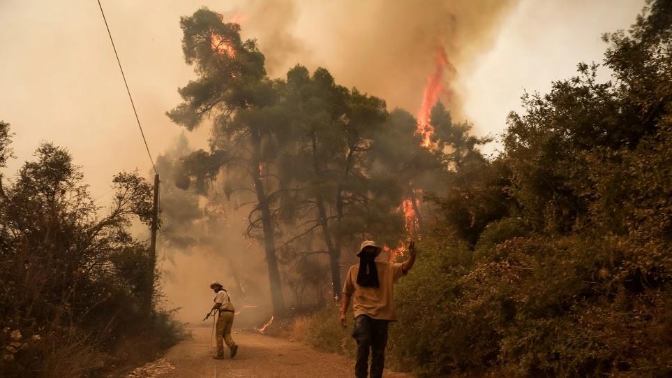 Δορυφορικές εικόνες δείχνουν το μέγεθος της καταστροφής στην Ελλάδα