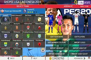 Anda jangan lupa untuk Unduh juga file  Download FTS Mod PES 2020 Shopee Liga 1 by Smilezone