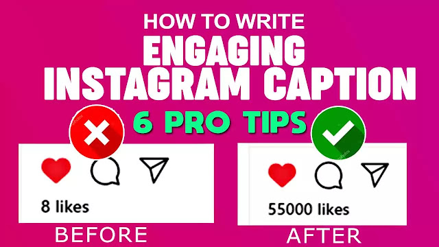 how to write better Instagram captions or how to write a caption on Instagram photos, you can use these Instagram caption tricks to improve your post.
