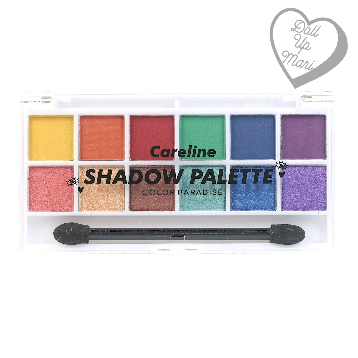 Careline Shadow Palette in Color Paradise