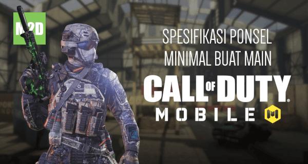 Spek minimal CODM Android