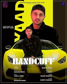 YAAD SONG - Handcuff Lyrics - DjPunjabNeW.CoM