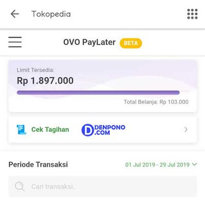 Berbagi Pengalaman Memakai OVO PayLater Tokopedia Berbagi Pengalaman Memakai OVO PayLater Tokopedia