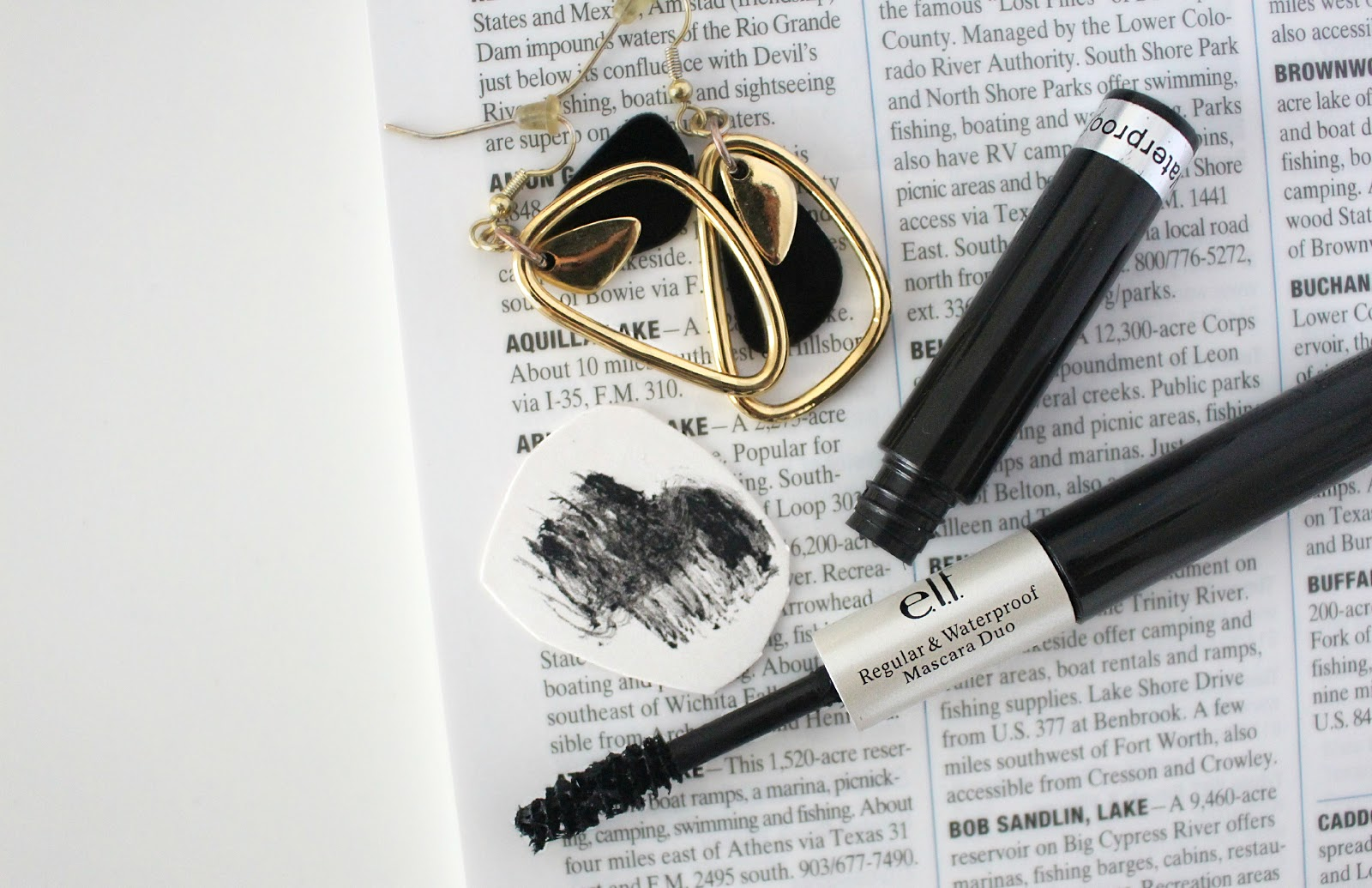 ELF Regular & Waterproof Mascara Duo Product Review