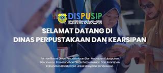 Situs Resmi Dinas Perpustakaan dan Kearsipan Kabupaten Bondowoso, syarat pinjam buku dan syarat menjadi anggota perpustakaan umum Bondowoso