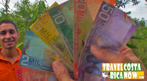 This Is A Video About The Exchange Rate And Currency In Costa Rica