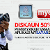 Diskaun Saman 50% dengan penggunaan aplikasi MyBayarSaman. Ini cara untuk dapatkan diskaun
