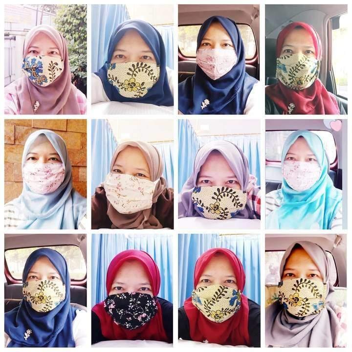 cara memakai dan mencuci masker kain dengan benar nurul sufitri travel lifestyle blogger review kesehatan