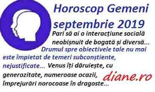 Horoscop septembrie 2019 Gemeni