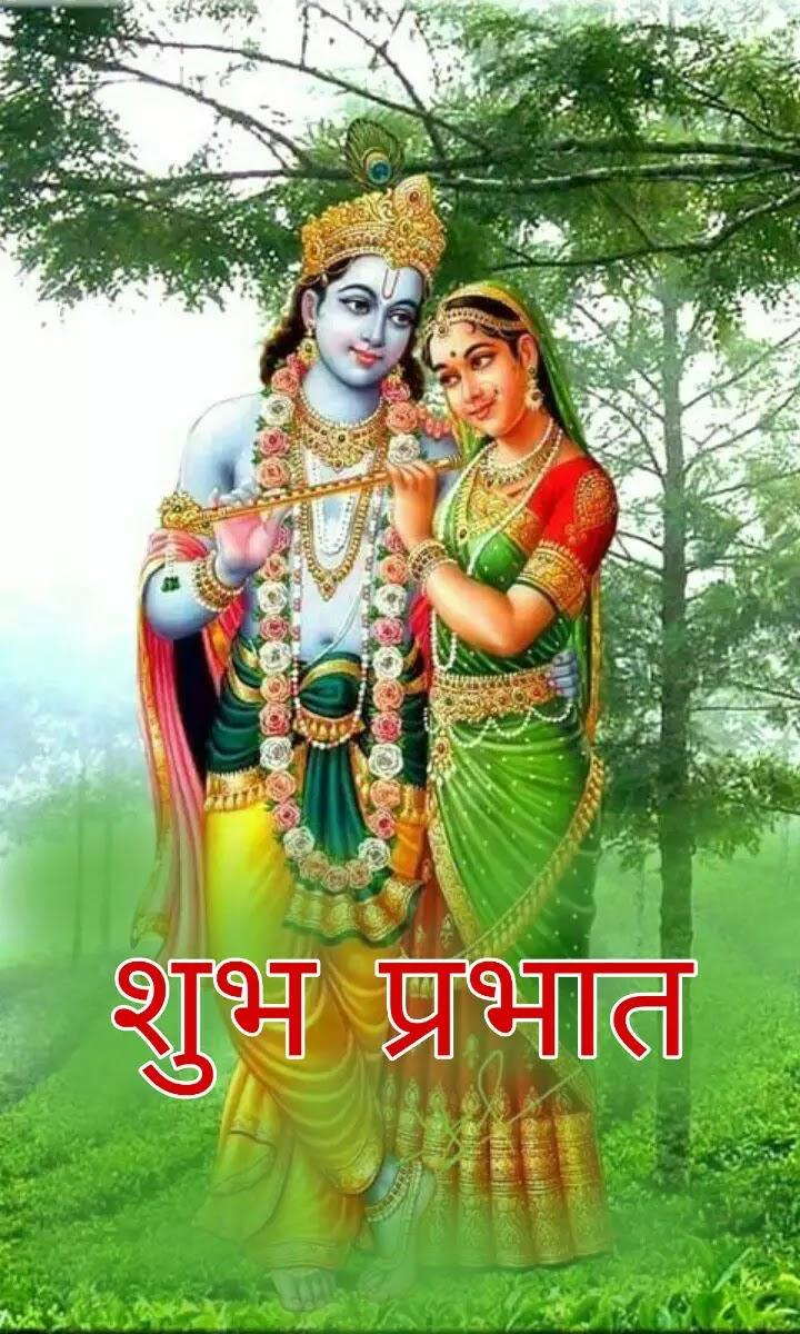 121 God Krishna Good Morning Images Radha And Krishna