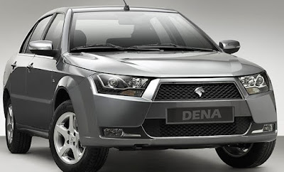İran otomobili DEna