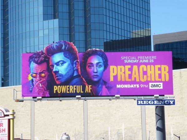 Preacher season 2 billboard