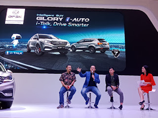 Talkshow Intelligent SUV, DFSK Glory i-Auto