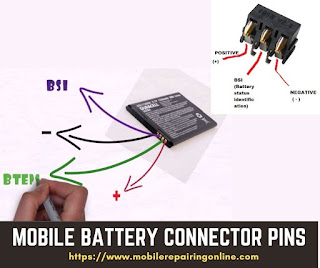 android phone battery connector ways