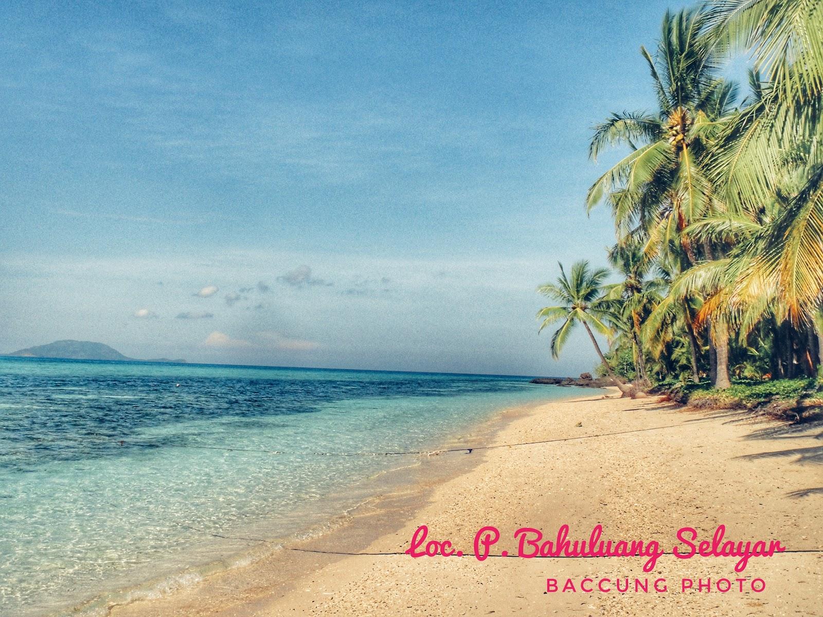 Eksotis Pulau Bahuluang Selayar Merangkaihati Blogspot Com
