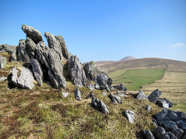 Things to do on the Dingle Peninsula - rocky hill
