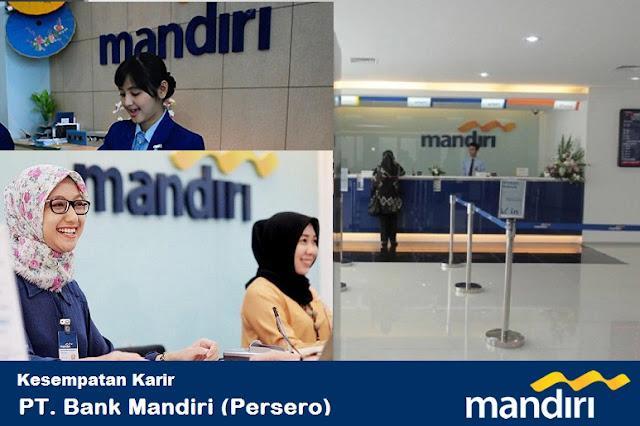 Lowongan Kerja PT. Bank Mandiri (Persero) Tbk Dengan Posisi Staff Perbankan, Kriya Mandiri, Etc Lulusan SMA Sederajat, Diploma, Dan Sarjana